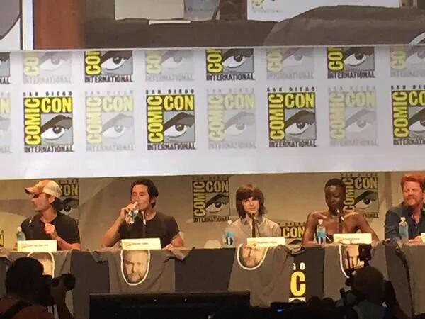 The Walking Dead Comic Con 2015
