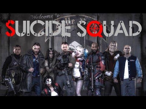 suicide squad movie 2016 poster film
