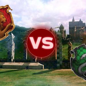 Gryffindor VS Slytherin