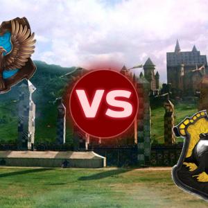 Ravenclaw VS Hufflepuff