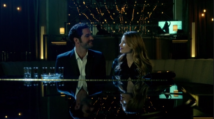 Chloe And Lucifer At LUX